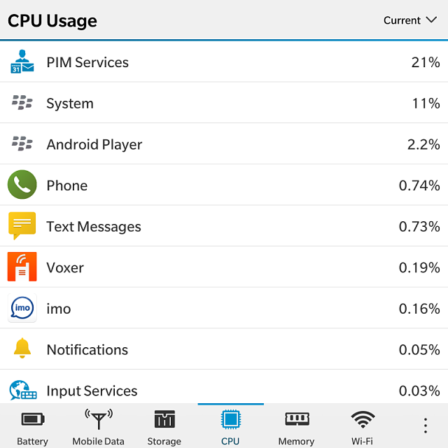 Recent HUGE Battery drain, seems to be Pim Services going in and out in the viewer I see it popping -img_20160327_155122.png
