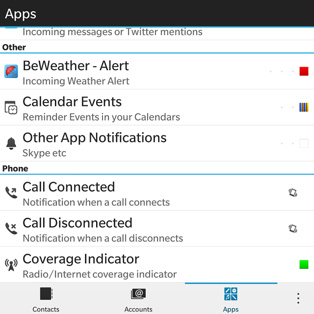 How to Turn ON Green Led Indicator for BB Passport - BlackBerry