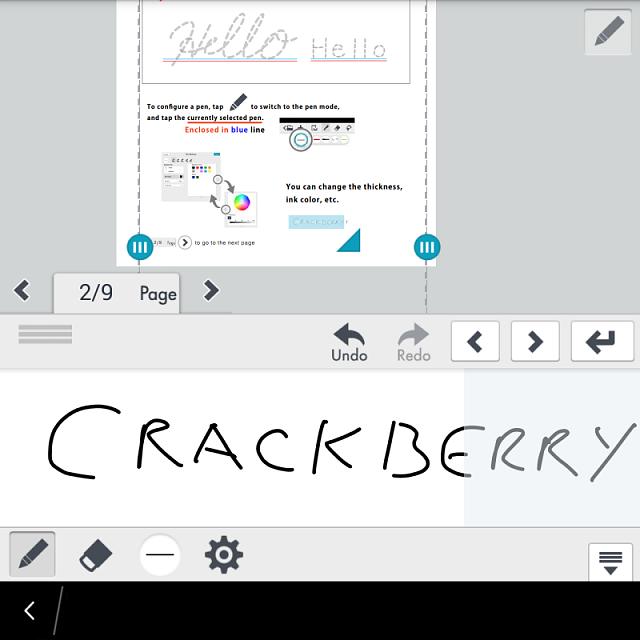 Writing apps for blackberry