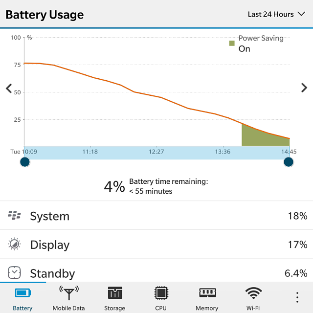 How much is your BlackBerry Passport battery life? Let's compare..-img_20161220_211411.png