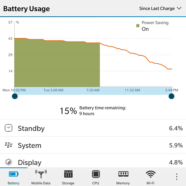 How much is your BlackBerry Passport battery life? Let's compare..-img_20161220_154859.png