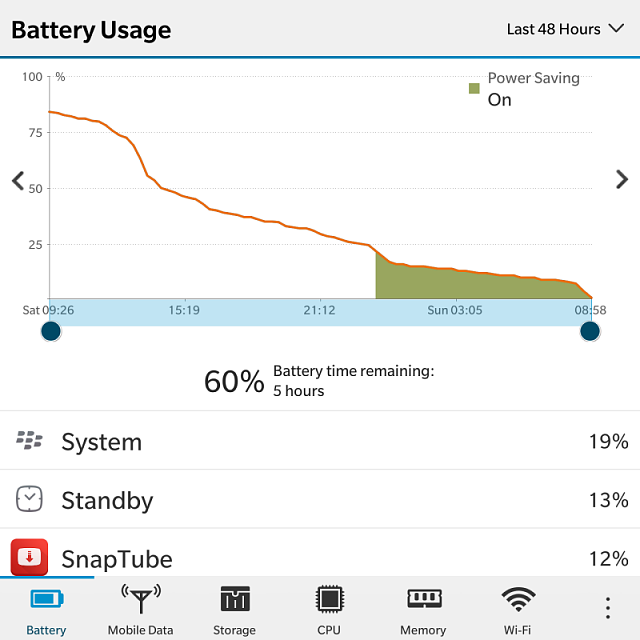 How much is your BlackBerry Passport battery life? Let's compare..-img_20170102_075445.png