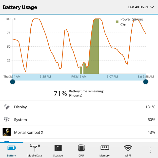 How much is your BlackBerry Passport battery life? Let's compare..-img_20170121_030004.png