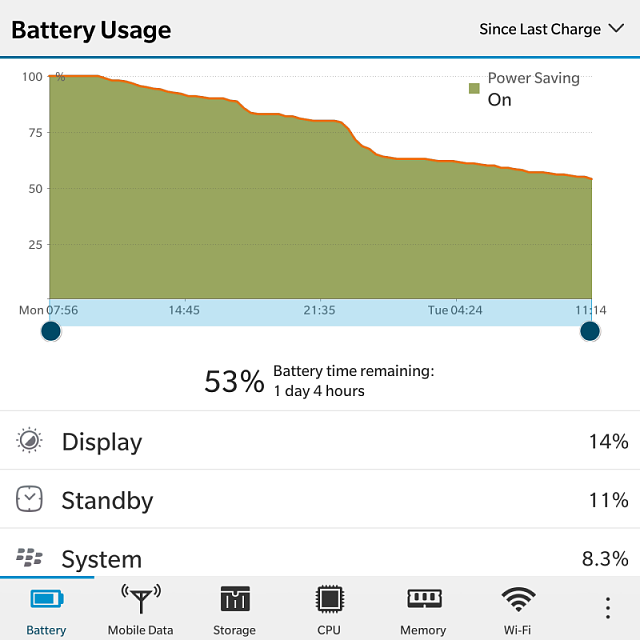 How much is your BlackBerry Passport battery life? Let's compare..-img_20170124_111858.png