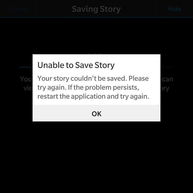 """Unable to Save Story"" error on Story Maker-img_20170216_224734.jpg"