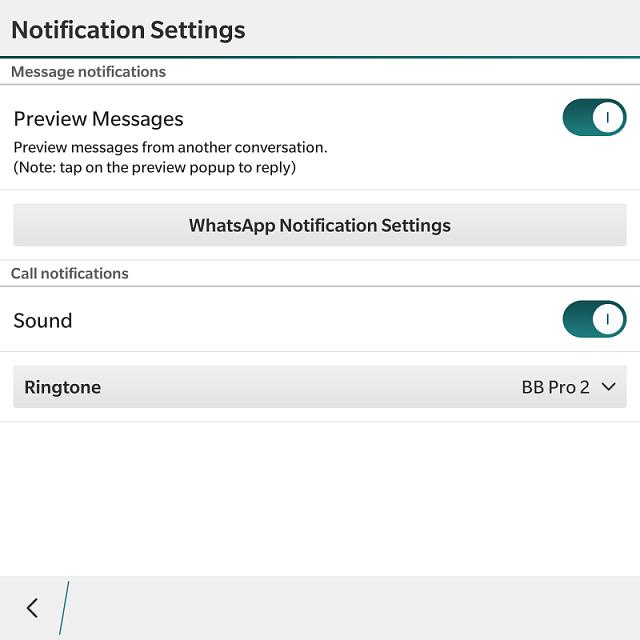 No Whatsapp ringtone! - BlackBerry Forums at CrackBerry com