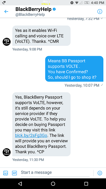 Does Blackberry Passport Support VOLTE. I asked BB Support on Twitter-screenshot_20171106-164022.png