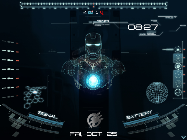 [Premium] Animated Jarvis Theme - BlackBerry Forums at