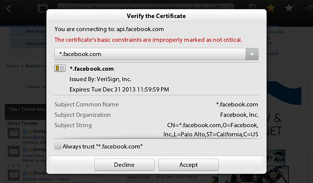 Anyone else getting this certificate verification pop up constantly on their playbook?-img_00000013.jpg