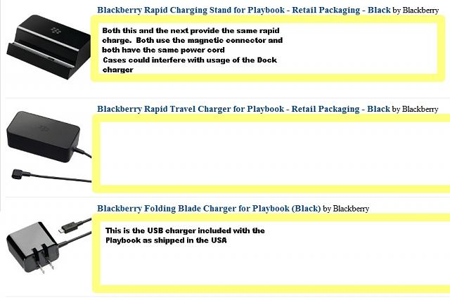 Can I use any BB wall charger to charge my BB Playbook?-playbookchargers3.jpg