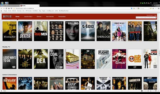 Using Splashtop remote desktop to watching Netflix on