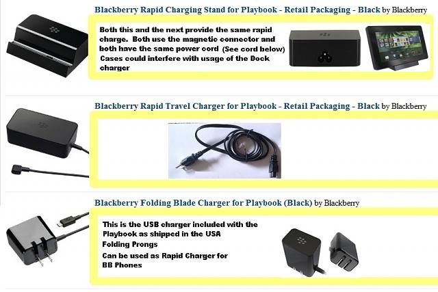 Playbook dead ? red light followed by 5 yellow flashes and won't boot-playbookchargers2.jpg