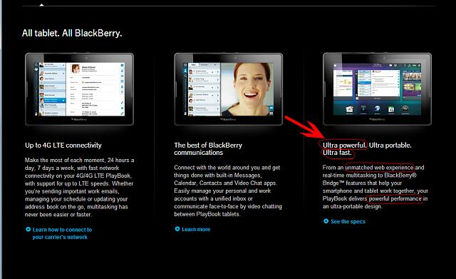 BlackBerry PlayBook Getting No More Significant Updates, Confirms Alec Saunders-playbook.jpg