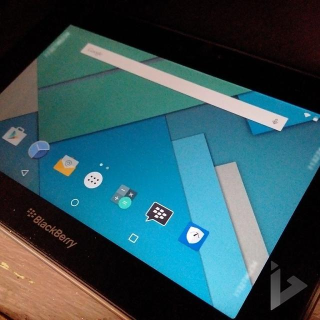 Would be awesome if BlackBerry Venice Android OS came to PlayBook