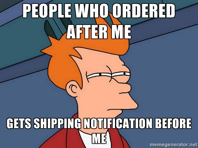 ShopBlackBerry shipping notifications - Page 48 - BlackBerry