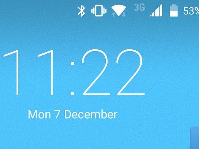 Rectangular Symbol Notification On Priv Home Screen Blackberry