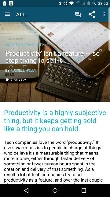 From Android Central: Productivity isn't a feature -  so stop trying to sell it! *Priv featured*-82148.jpg