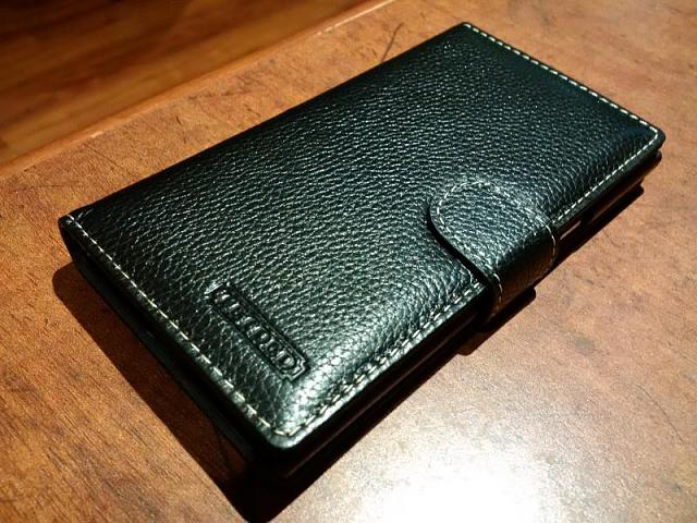 top fashion 8f20a 8adf8 Tetded Leather Flip Case (Pic Heavy) - BlackBerry Forums at ...