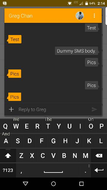 Priv should use Textra as 'baked in' SMS app [Opinion