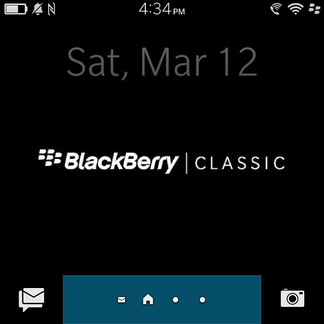 Why Is There No Bb Icon Up Top In The Tray Blackberry Forums At