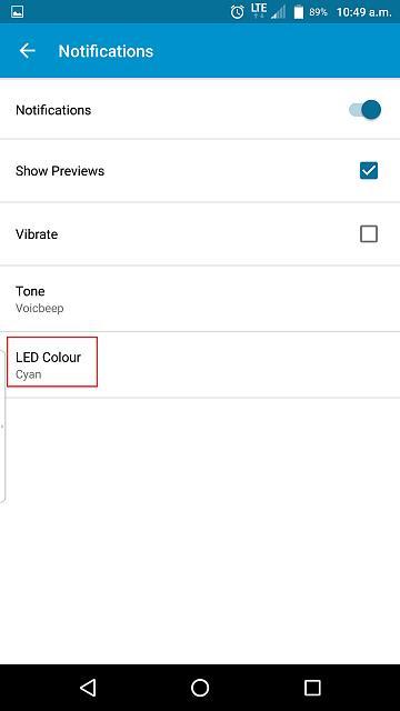 BlackBerry Priv Notification Colours - BlackBerry Forums at