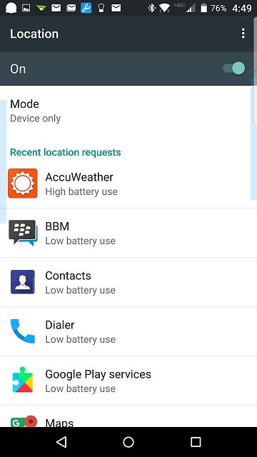 Tips for reducing heat and battery drain on Priv