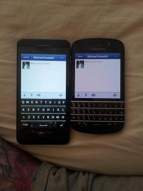 Blackberry Q10 And Z10
