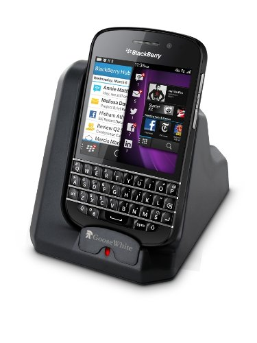 ... charger cradle for blackberry q10 sync and charge your q10 on your