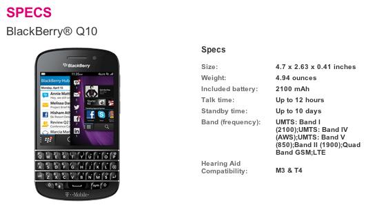 Will a Verizon Q10 work on a TMobile network? - BlackBerry