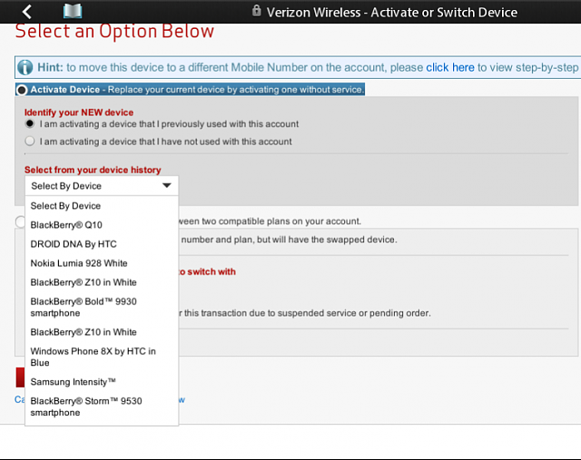 If one switches back to OS7 device, does BIS come back or gone with ...
