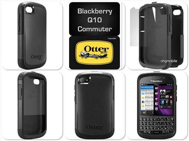 REVIEW: OtterBox Defender & Commuter Cases - BlackBerry
