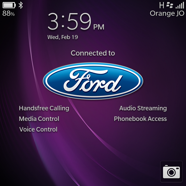 What is your BlackBerry lock screen look like when you connect to your car?-img_20140219_155943.png