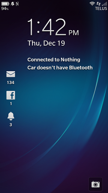 What is your BlackBerry lock screen look like when you connect to your car?-img_20131219_134248.png