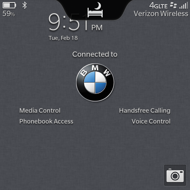 What is your BlackBerry lock screen look like when you connect to your car?-img_20140218_215155.png