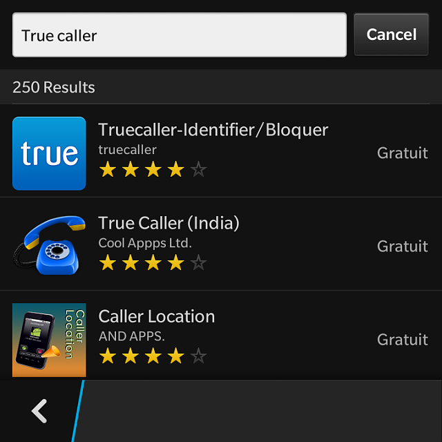 True Caller for Q10 - BlackBerry Forums at CrackBerry com