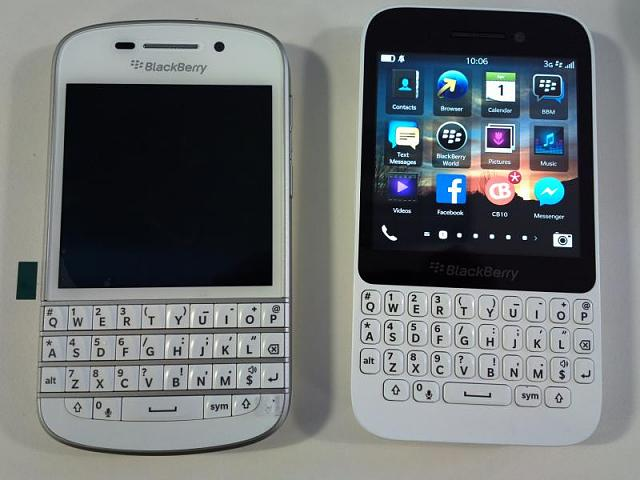 Just got my Q10 in white, I'm impressed - BlackBerry Forums at