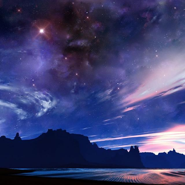 WALLPAPERS!!! - For the love of Q.. [RELOADED]-download-clear-night-sky-desert-wallpaper-720x720.jpg