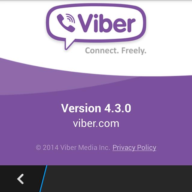 viber sur blackberry q10