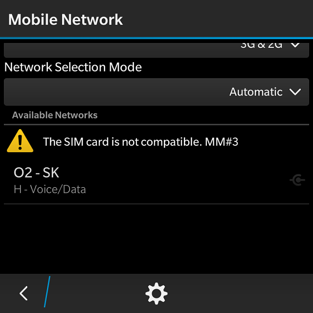 Sim not allowed MM#3 (Q10 10 3 1 747) - BlackBerry Forums at