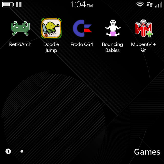 Frodo C64 Android Games