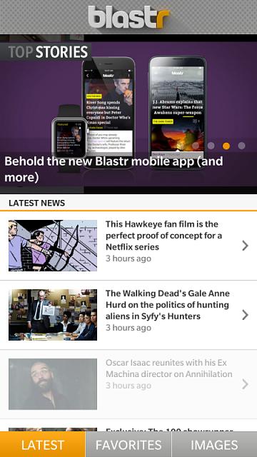 The BB10 Blastr App - BlackBerry Forums at CrackBerry com