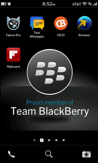 BlackBerry 10 Screenshot Thread [Some NSFW]-homescreen.jpg