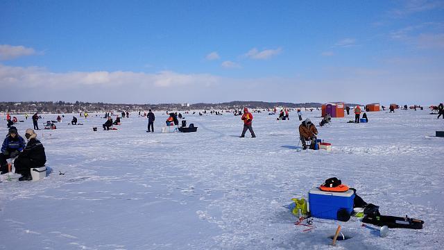 Ice fishing lake simcoe 2015 images for Lake simcoe fishing