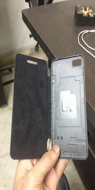 awesome Z10 new leather flip cover for Z-10    check the