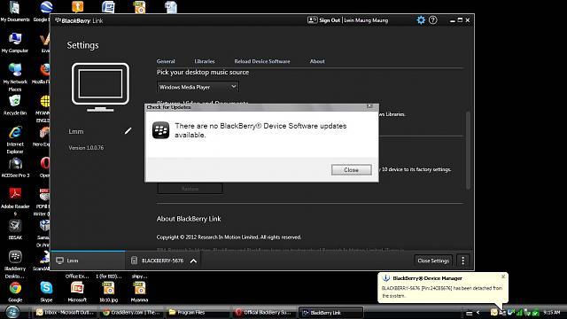 How can I update my blackberry Z10 OS in Myanmar? - BlackBerry