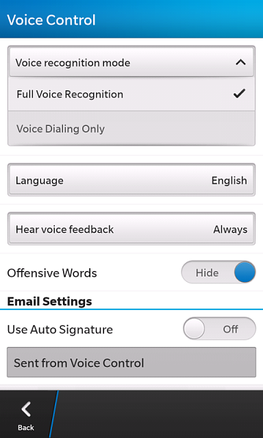 how to turn off voice command