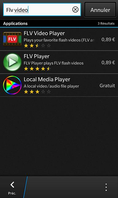 BB10  flv flash video player? - BlackBerry Forums at