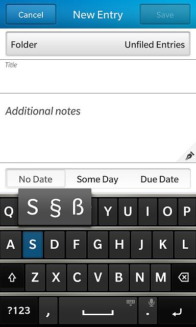 Trying To Type A Section Sign Blackberry Forums At Crackberry