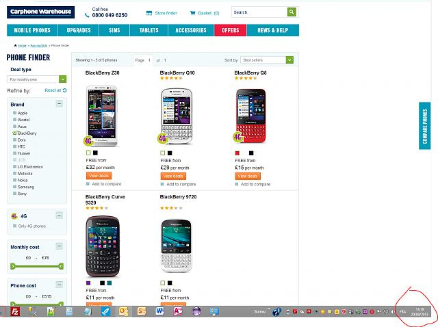 Blackberry z10 no longer listed at carphone warehouse for Blackberry z10 carphone warehouse leak
