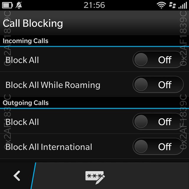 Call blocker for blackberry - i phone call blocker app